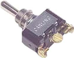 Picture of On-off-on position switch, with three screw terminals