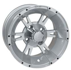 Picture of GTW Yellow Jacket 12x7 Machined Silver Wheel