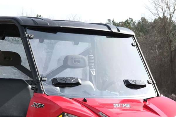 Picture of windshield - versa-vent - double sided hard coated polycarbonate
