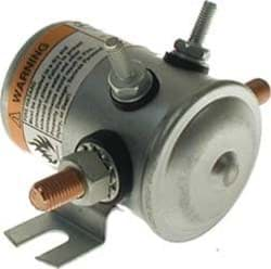 Picture of Solenoid, 24-volt, 4 terminal #70 series with copper contacts